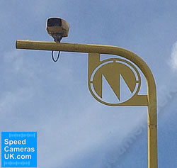 Lone VECTOR speed camera keeps watch
